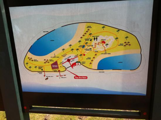 st johns island map of the island