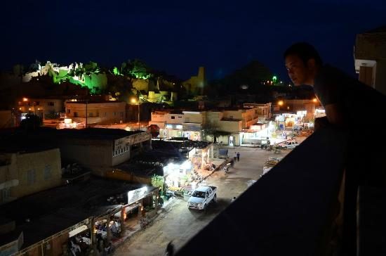 Hotel Kelany : View at night from rooftop