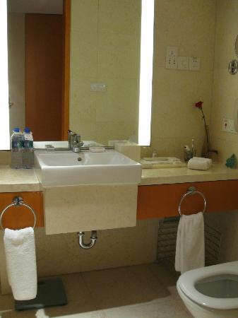 Zhenjiang International Hotel: Bathroom