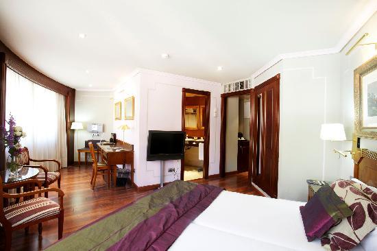 Hotel Plaza Andorra: habitació