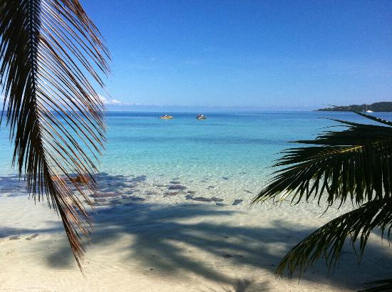 Malolo Lailai Island, Fiji: From just outside our bure