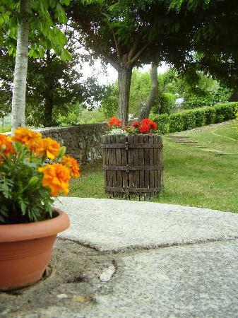 La Rocca di Mantignana: neben dem Pool