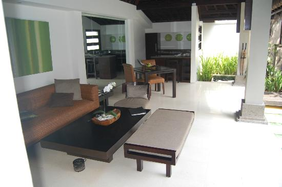 The Amala: Kitchen/Dining and sitting area