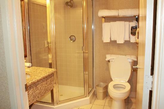 Holiday Inn Express Bakersfield: Bathroom