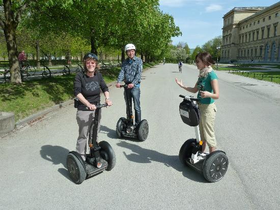 Segway Tour Munich : Das macht Spass
