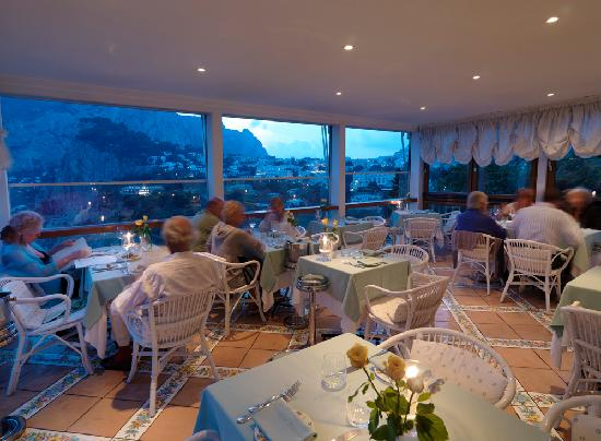 Restaurant Dinner Picture Of Terrazza Brunella Capri