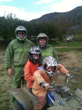 Madog Quads: Alan,Rachel,Alex & Olivia