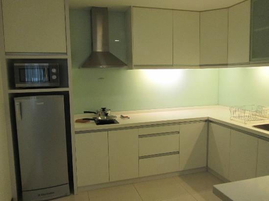 Fraser Place Kuala Lumpur: The kitchen