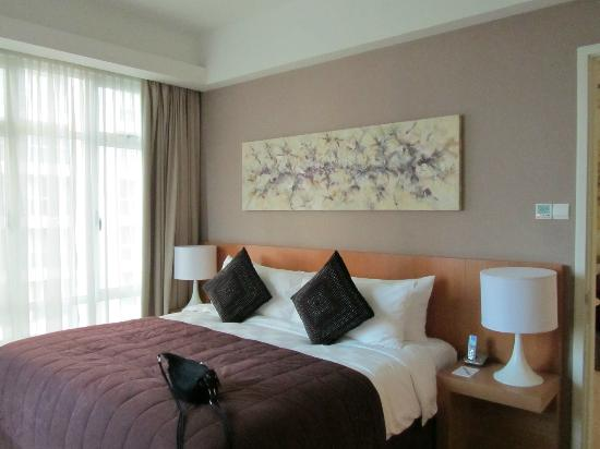 Fraser Place Kuala Lumpur: The bedroom
