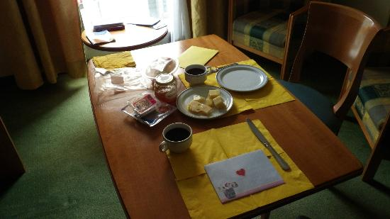 Citadines Ramblas Barcelona: Petit déjeuner