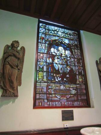 St. James Church: Lovely stain glass