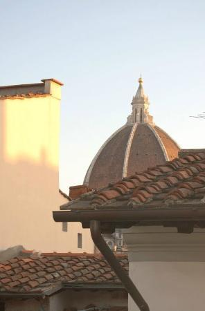 Alfani House: View of Duomo from the Living room