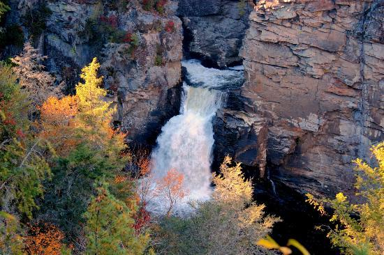 Linville Falls in the Fall