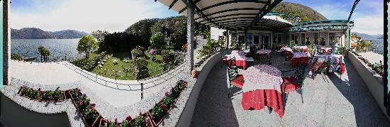 Hotel Ristorante Enoteca del Lago: LA TERRAZZA