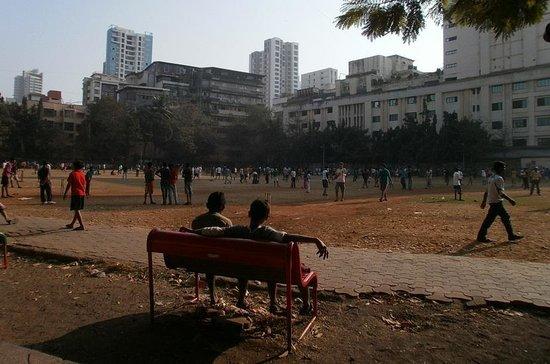 Shree Siddhivinayak: ここからクリケットボールが飛んでくるので注意