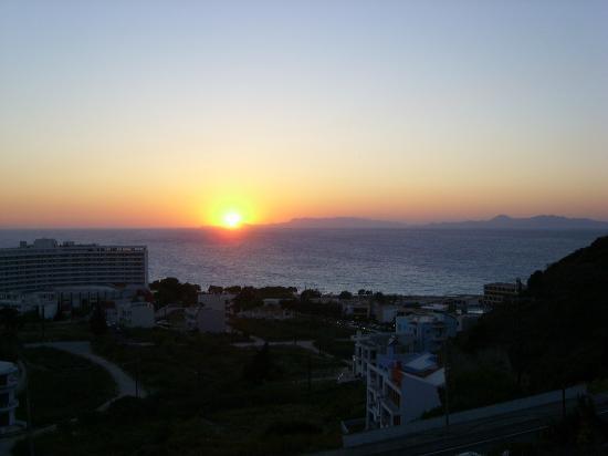 Sirene Beach Hotel: tramonto