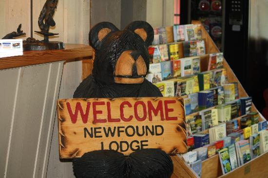 "Newfound Lodge: welcome ""bear"""