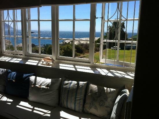 Bosky Dell: View from the dinning room of the Main House