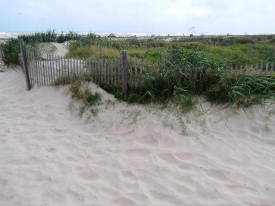 Galveston Island State Park Beach Entrance