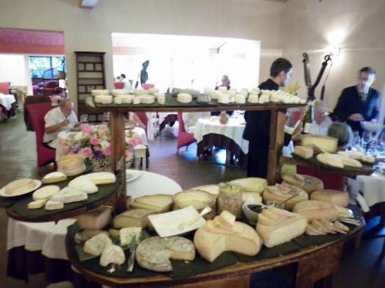 Fontjoncouse, Frankreich: Le plateau de fromages