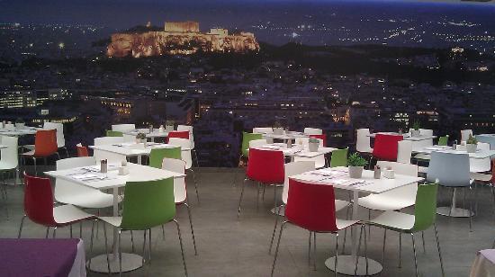 Novus City Hotel: Breakfast in the lounge...