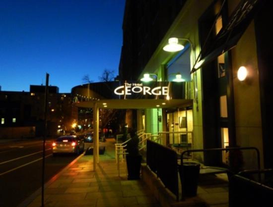 ザ ホテル ジョージ - ア キンプトン ホテル, 外観