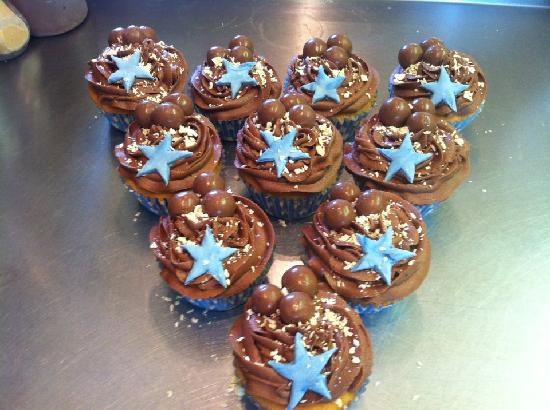 Bramleys Tearooms: Cupcakes for a Baby Shower