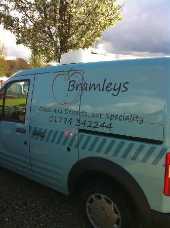 Bramleys Tearooms: Our refrigerated van
