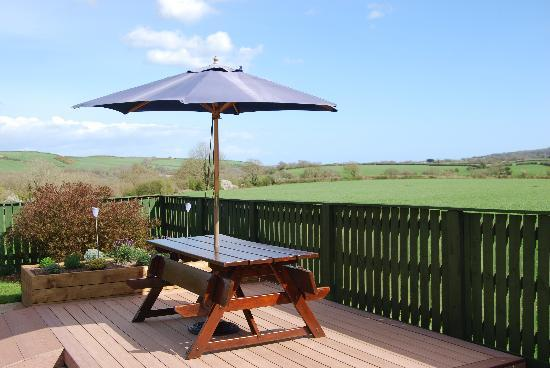 Jordanston Holiday Cottages: Pleasant Valley Sitting Area