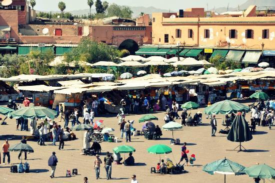 Riad Sidi Ayoub : Plaza Jemaa el Fna.