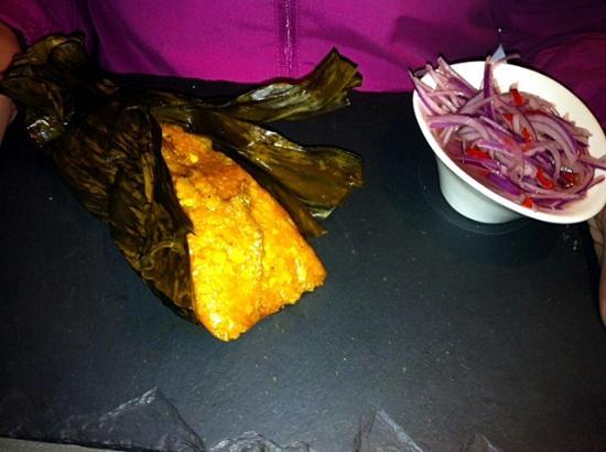 Pachacamac : Tamal de pollo