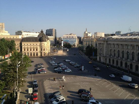 Athenee Palace Hilton Bucharest: View from Executive lounge