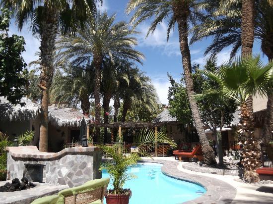 Las Cabanas de Loreto: Pool area