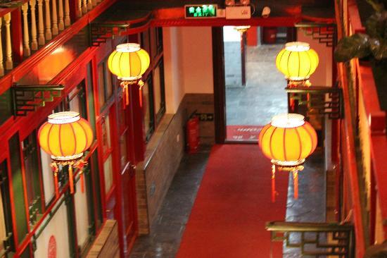 Splendid Zhuang Hotel : Inside the hotel from second floor