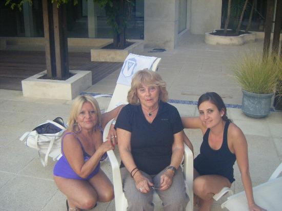 Hotel Italiano: Zaida Rocha, Azucena Lombardi y Maria Laura Sigaudo