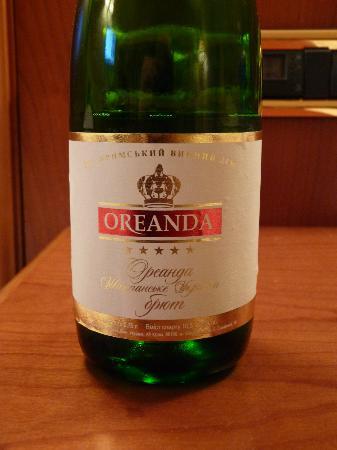 Hotel Oreanda: Birthday champagne