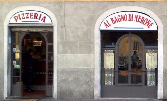 Al bagno di nerone pisa restaurantanmeldelser tripadvisor - Puzza dallo scarico bagno ...