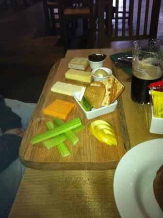 The Beer Hall: English Cheese Board