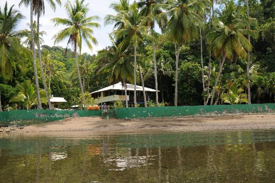 Saladero Eco Lodge: Vom Meer aus