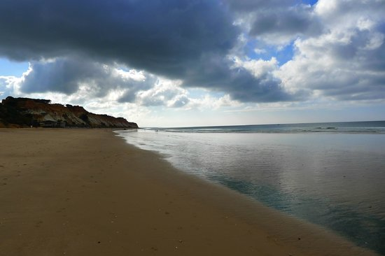 Playa de Falésia: Falesia Beach, Portugal