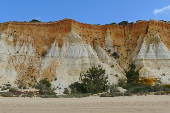 Praia da Falesia (Steilküstenstrand): Falesia Beach, Portugal