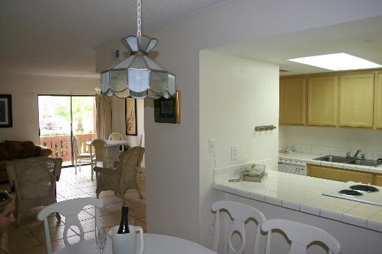 Tiki Vacation Condominiums: living area