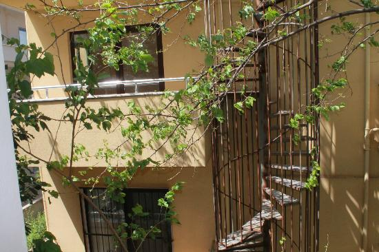 Villa Sun Apartments: view from floor 1..