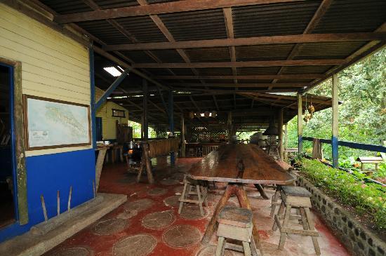 La Carolina Lodge: Essbereich