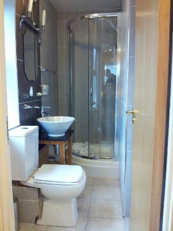 BEST WESTERN Ilford Hotel: Shower room, angle of photo actually makes it look bigger!