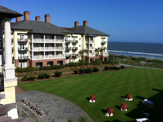 The Sanctuary Hotel At Kiawah Island Golf Resort Balcony View