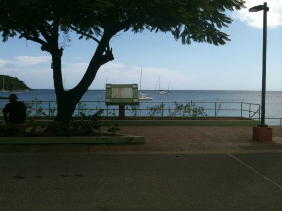 View from Duffy's showing new Malecon
