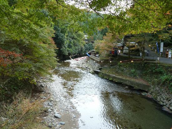 Jingoji Temple: Kiyotaki Fluss