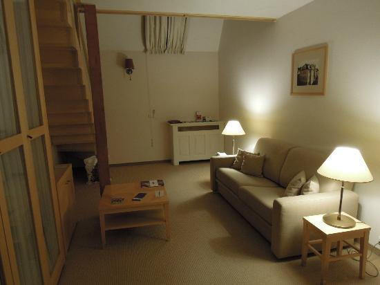 Ventana Hotel Prague: The living room