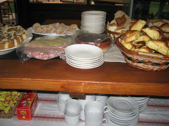 Dunas del Este: UNa pequeña parte del desayuno